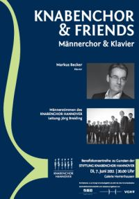 Knabenchor & Friends: M�nnerchor & Klavier solo