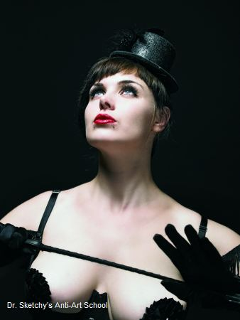 Burlesque-Künstlerin LouLou aus Hamburg