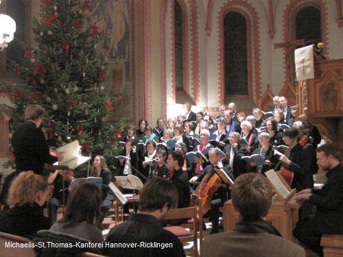 Aufführung des Messiasoratorium Teil I von G.F. Händel, Michaeliskirche