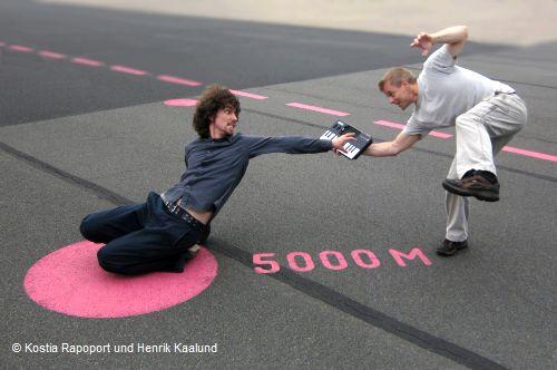 Kostia Rapoport und Henrik Kaalund