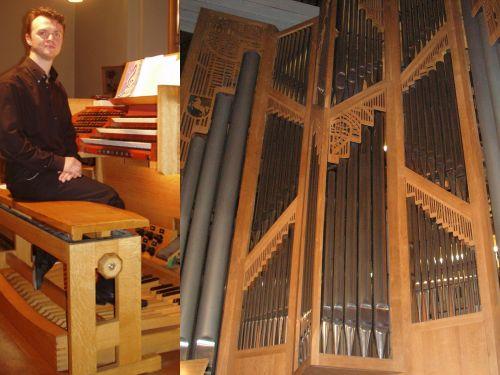 Dmitry Bondarenko an der Lobbak-Orgel