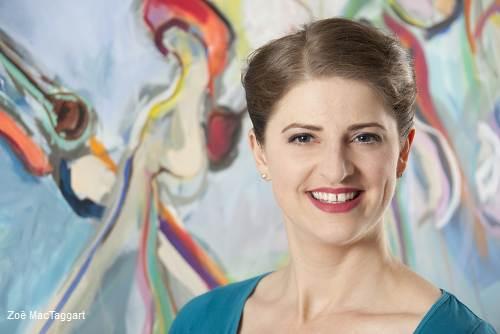 Künstlerin Zoë MacTaggart