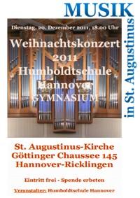 Humboldtschule Hannover: Weihnachtskonzert