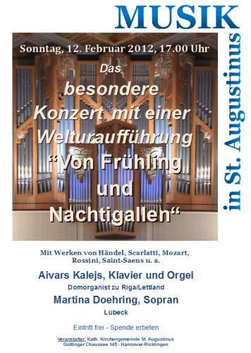 Das besondere Konzert in St. Augustinus