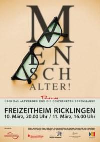 Theaterinitiative B�hnensturm: Mensch Alter!