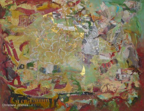 Malereien von Christiane Jimenes
