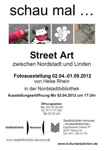 Schau mal ... Street Art zwischen Nordstadt und Linden