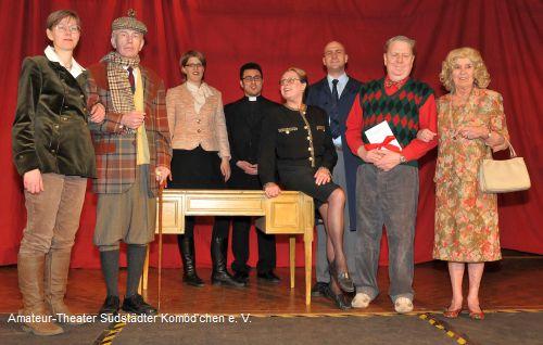 Südstädter Komöd'chen: Die Balkonszene - Ensemble