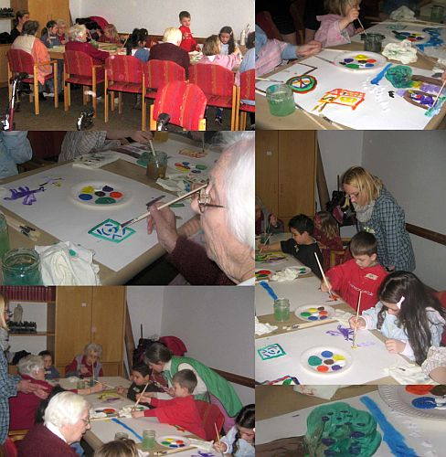 Senioren-Kinder-Projekt im Godehardi-Stift