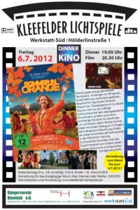 Dinnerkino: Sommer in Orange
