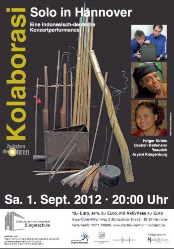 Konzert am 1. September 2012