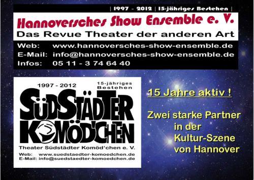 Jubiläums-Show Hannoversches Show Ensemble: Einmal um die (ganze) Welt