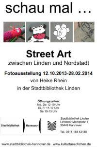 Schau mal ... Street Art zwischen Linden und Nordstadt