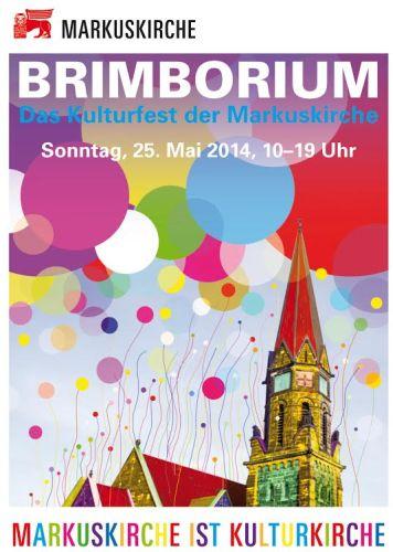 BRIMBORIUM- Das Kulturfest der Markuskirche am 25. Mai 2014