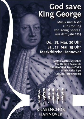 Knabenchor Hannover: God save King George - Krönungsmusik als Konzert