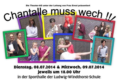 So ein Theater - und das in der Ludwig-Windthorst-Schule