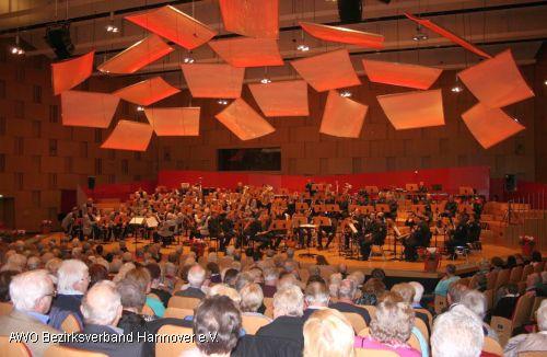 Impression vom AWO Großkonzert im NDR Funkhaus im November 2013