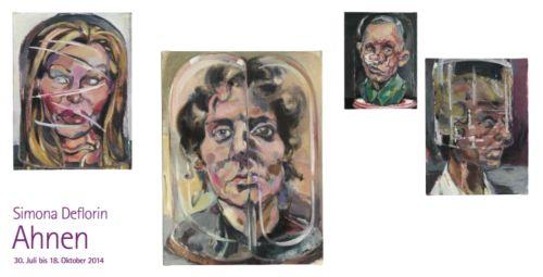 Kunst-Ausstellung: Simona Deflorin - Ahnen
