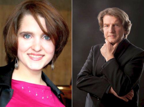 Nadezda Senatskaya und Christian Gläsker