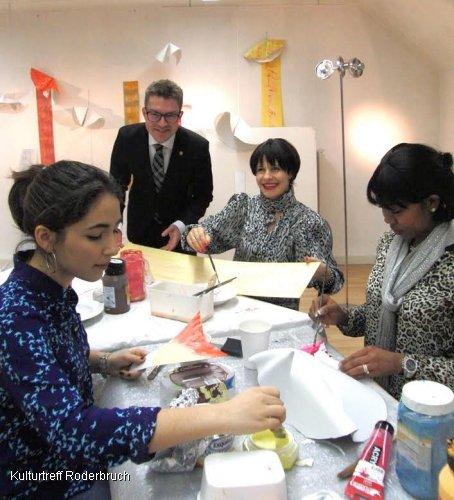 Allen das Gl�ck - ein keksreiches Kunstprojekt des Kulturtreffs Roderbruch