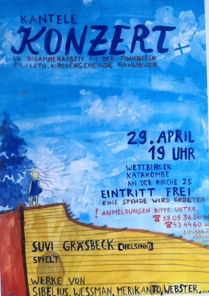 Kantele-Konzert mit Suvi Gräsbeck aus Helsinki
