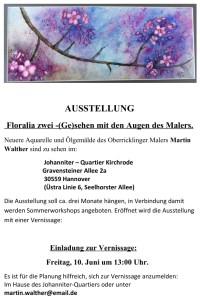 Floralia 2: (Ge)Sehen mit den Augen des Malers