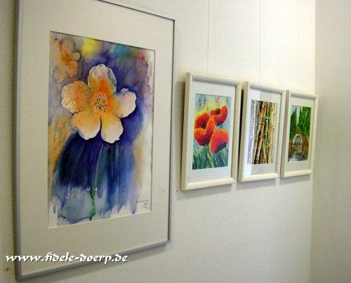Floralia zwei � Sommerausstellung von Martin Walther