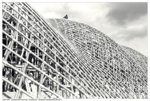 Japanischer Pavillon auf der EXPO 2000 fotografiert von Susanne Schumacher