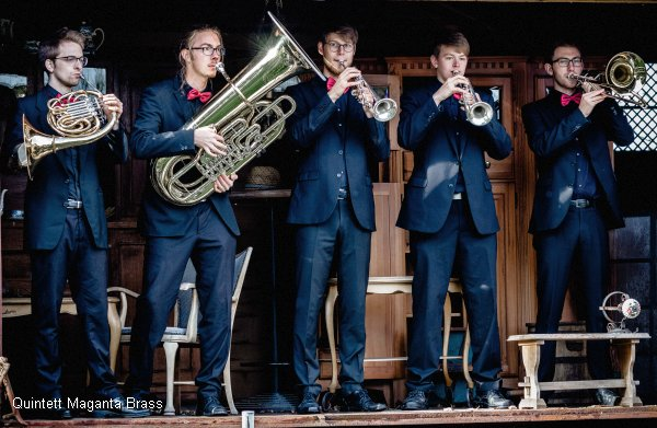 Maganta Brass